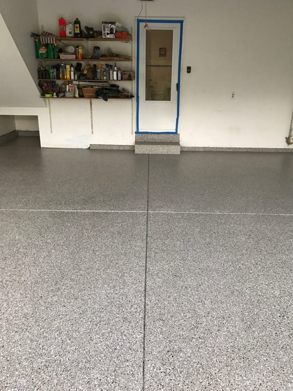 is stain resistant will stand up to abuse and cleans easily this is a garage floor you can enjoy and be proud of be the envy of your neighbors