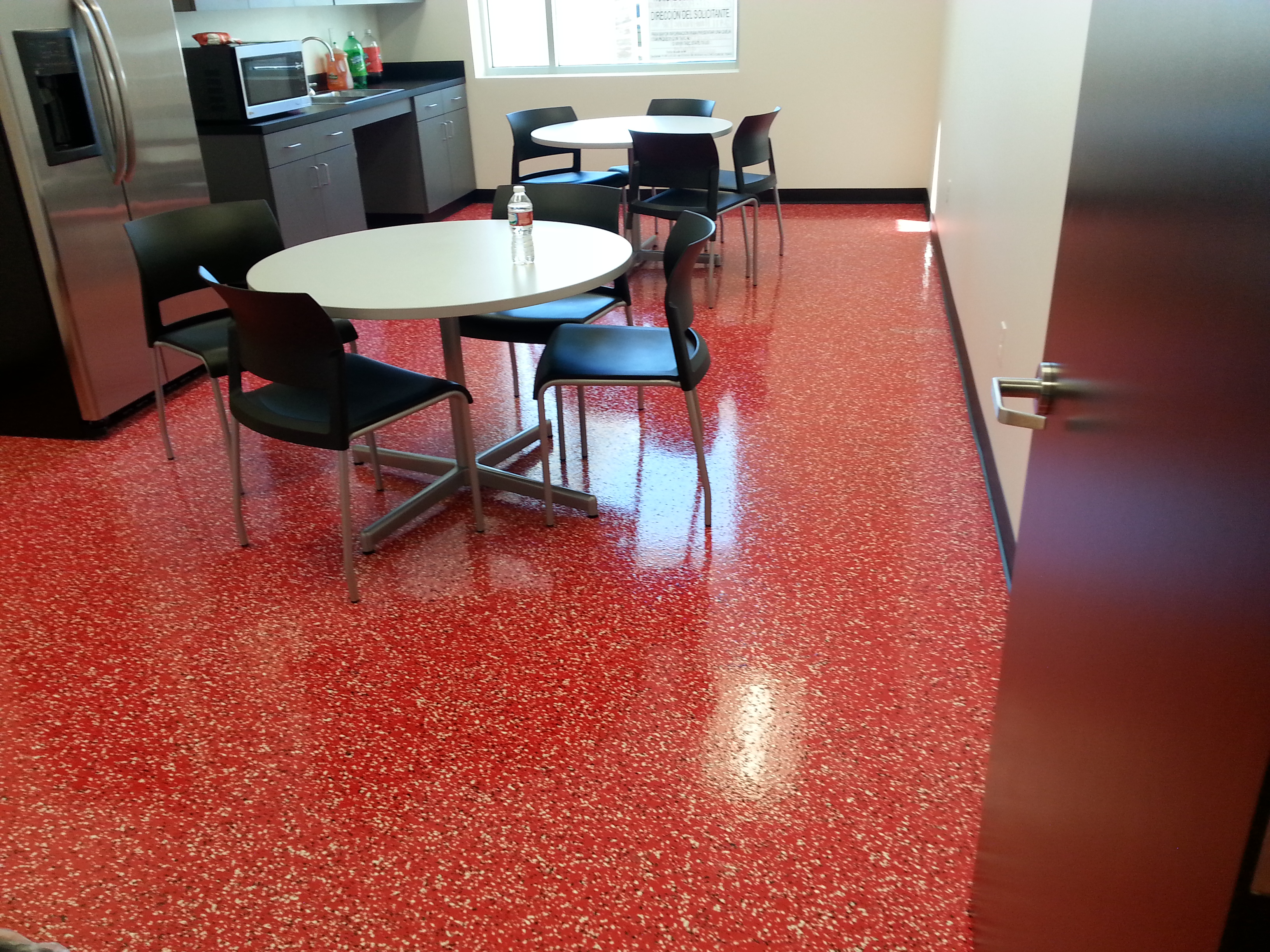 Commercial Gorilla Garage Coatings Are Perfect For Break Rooms, Office  Kitchens And Similar Spaces.