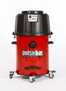 Pulse-Bac dust collection for garage floor coating systems