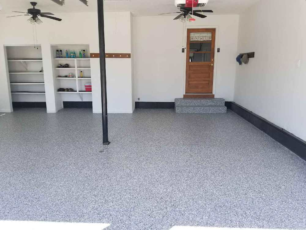 you canu0027t do this with a diy garage floor epoxy kit plus our proprietary system is complete in just one day
