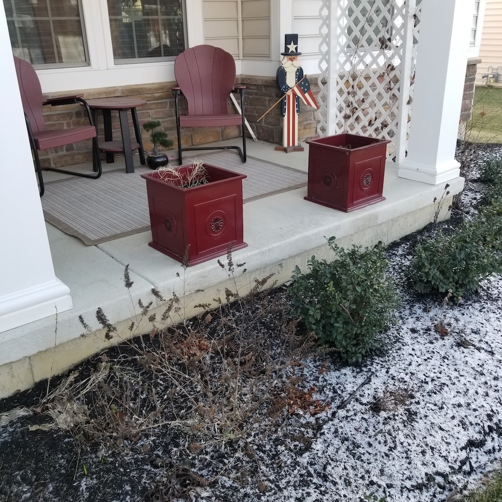 need to finish a cement porch